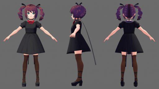3Dモデル格闘中